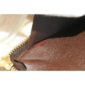 Louis Vuitton Damier Ebene Long Zippy Wallet 265lvs216