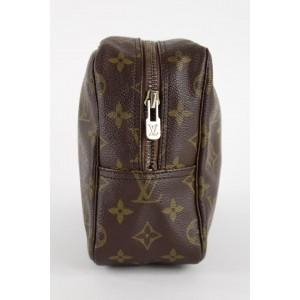 Louis Vuitton Monogram Toilette Trousse 28 Cosmetic Pouch Make Up Case 3LVS1216
