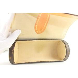 Louis Vuitton Rare Monogram 3 Watch Case Travel Roll Hard 73lvs126