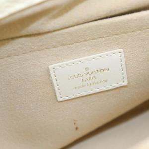 Louis Vuitton 859176 Monogram Mini Lin Beige Trapeze PM Boston
