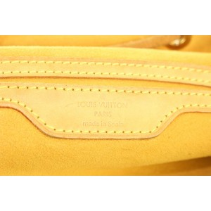 Louis Vuitton Monogram Denim Sac a Dos GM Backpack 934lvs415