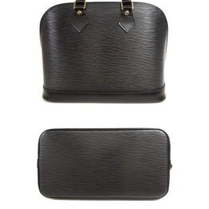 Louis Vuitton Black Epi Alma 231200