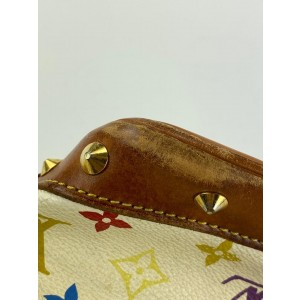 Louis Vuitton Game On Monogram Multicolor White Alma PM 861834
