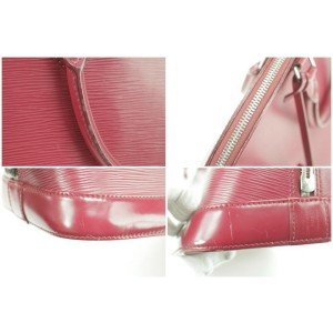 Louis Vuitton Fuschia Epi Alma GM 7LK1226