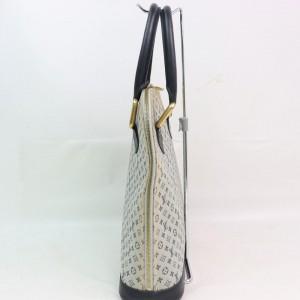 Louis Vuitton  Blue Grey Monogram Mini Lin Alma Haut Tall 8701664