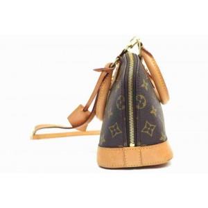 Louis Vuitton Monogram Alma BB with Strap Bandouliere Crossbody 860465
