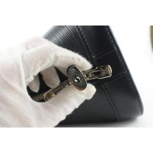 Louis Vuitton New Model Black Epi Leather Noir Alma PM Bag 36lvs122