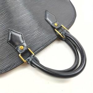 Louis Vuitton Black Epi Leather Noir Alma PM Bag 862335