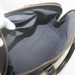 Louis Vuitton Black Epi Leather Alma PM Bowler bag 862987