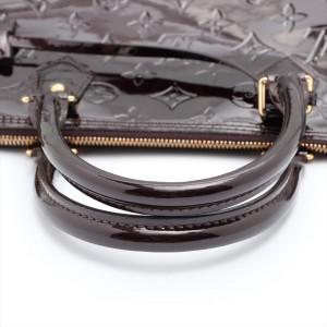 Louis Vuitton Large Amarante Monogram Vernis Alma GM Bowler Bag 862044