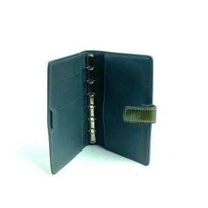 Louis Vuitton Cyber Epi Millennium Day Meets Night Small Agenda Anthracite 18l610