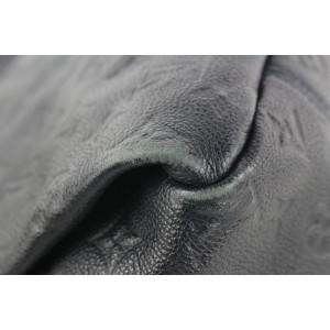 Louis Vuitton Blue Infini Monogram Empreinte Artsy MM Hobo Bag 287lvs513