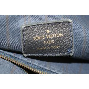 Louis Vuitton Black Empreinte Monogram Leather Artsy MM Hobo Bag 552lvs310