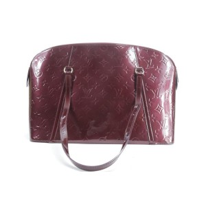 Louis Vuitton  Amarante Monogram Vernis Avalon PM Shoulder Bag 18LK01