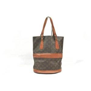 Louis Vuitton Monogram Marais Bucket GM Tote bag 860696