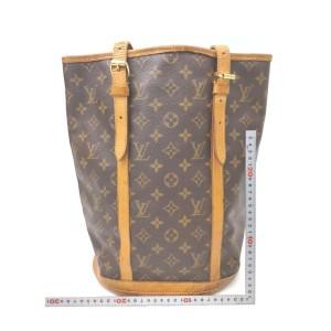 Louis Vuitton Monogram Marais Bucket GM Tote Bag  862290