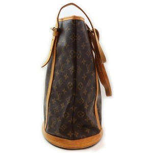 Louis Vuitton Monogram Marais Bucket GM Tote Bag 862237