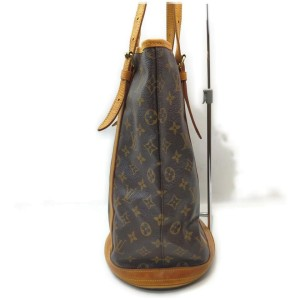 Louis Vuitton Monogram Marais Bucket GM Tote Bag 862248