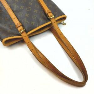 Louis Vuitton Monogram Marais Bucket GM Tote Bag with Pouch  861717