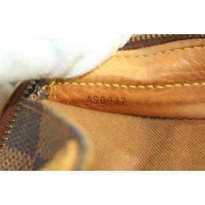 Louis Vuitton Centenaire 100 Anniversary Damier Ebene Columbine Zip Tote Bag 654lvs3