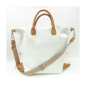 Louis Vuitton LV CUP White Damier Geant Cube 2way Bandouliere Duffle Bag -863250