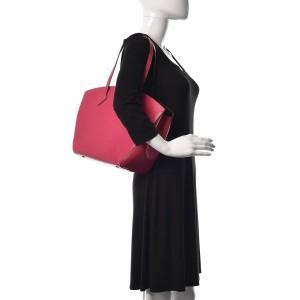Louis Vuitton Fuchsia Pink Epi Leather  Saint Jacques NM Zip Tote bag   861890
