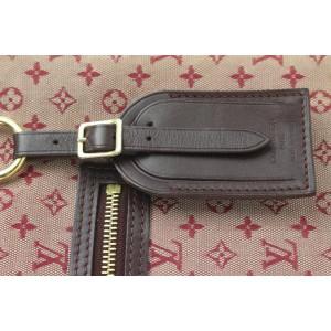 Louis Vuitton Bordeaux Monogram Mini Lin Lucille GM Tote Bag 240lvs212