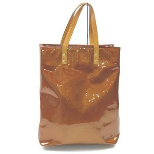 Louis Vuitton Bronze Monogram Vernis Reade MM Tote Bag 862599