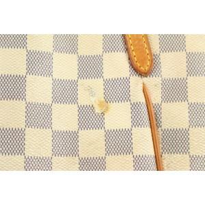 Louis Vuitton Damier Azur Totally PM Zip Tote Bag 880lvs412