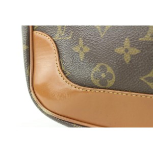 Louis Vuitton Ultra Rare Vintage Monogram Hobo Bagatelle Boulogne Bag710lvs323
