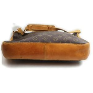 Louis Vuitton Rare Monogram Bagatelle Zip Hobo Bag 862399
