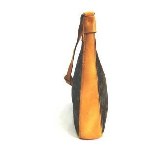 Louis Vuitton Monogram Bagatelle Zip Hobo Shoulder Bag 861645