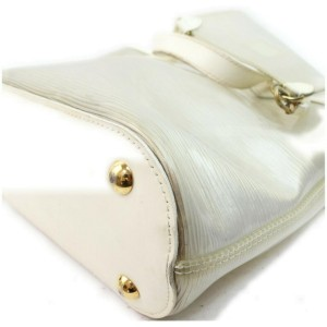 Louis Vuitton Clear Translucent Epi Plage Mini Lagoon Bay with Pouch861490