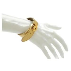 Louis Vuitton Monogram Fleur Lucky Bracelet Cuff Bangle 872375