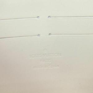 Louis Vuitton Blanc Corail Vernis Stephen Sprouse Leopard Zippy Wallet Long 860956