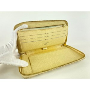 Louis Vuitton Damier Azur Zippy Organizer Wallet Zip Around 8lv122