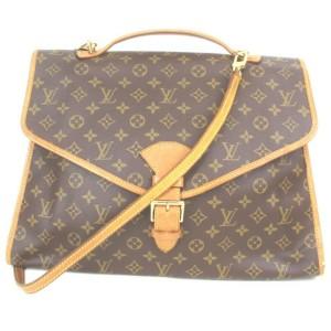 Louis Vuitton Monogram Beverly Briefcase with Strap Ivy Bel-air 857651
