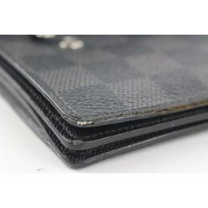 Louis Vuitton Damier Graphite Portefeuille Accordion Long Flap Wallet 222lvs210