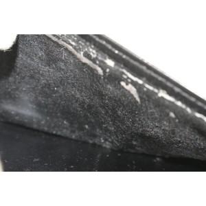 Louis Vuitton Black Epi Leather Long Bifold Wallet 361lvs525