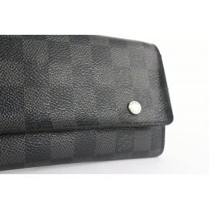 Louis Vuitton Damier Graphite Compact Modulable Wallet 850lvs48