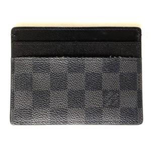Louis Vuitton Damier Graphite Card Case ID holder 5LVA629