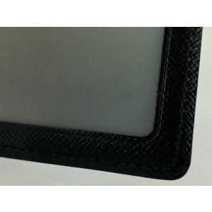 Louis Vuitton Black Damier Graphite Long Card Holder Wallet Case 7lvm128