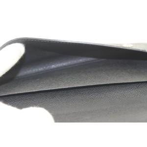 Louis Vuitton Black Damier Graphite Modulable Long Flap Wallet 14lvs421