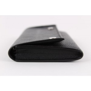 Louis Vuitton Damier Graphite Modulable Long Snap Wallet Sarah 7LVS1221