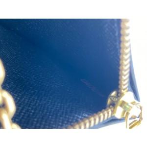 Louis Vuitton Black Epi Leather Pochette Cles Key Pouch Keychain  861937