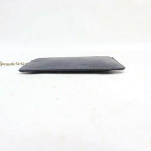 Louis Vuitton Black Epi Leather Noir Pochette Cles Key Pouch Coin Purse 860551