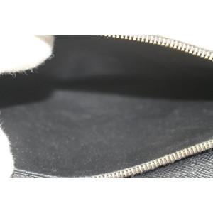 Louis Vuitton Monogram Noir Porofeuil Kimono Flap Long Wallet 288lvs513
