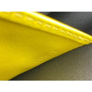 Louis Vuitton Damier Graphite Pochette Voyage MM Zip Clutch Yellow Stripe 862045