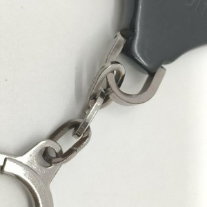 Louis Vuitton Black Epi Porte Cles Keychain Bag Charm 863125