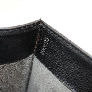 Louis Vuitton Black Taiga Porte Angara Document Attache Briefcase 871866